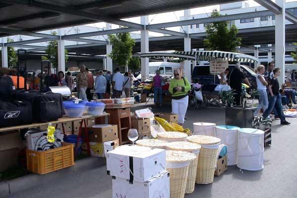 Frischezentrum Flohmarkt
